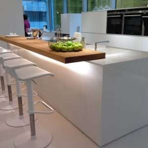 Quartz compozit Crystal Absolut White