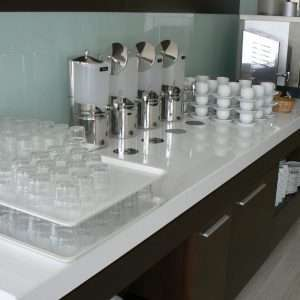 Quartz compozit Crystal Polar White